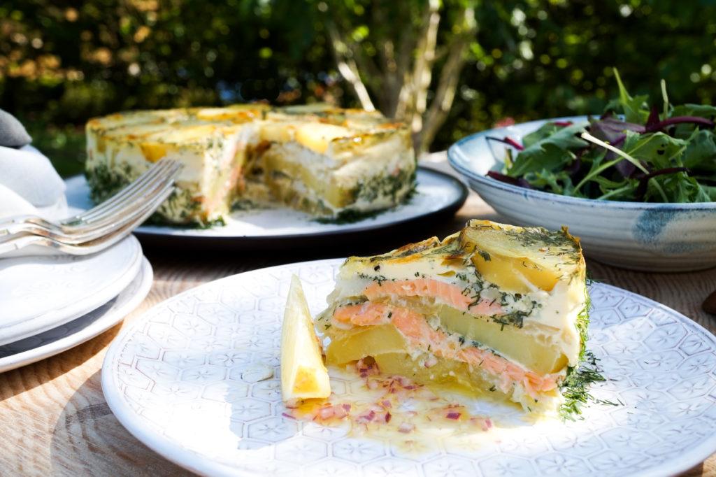 Salmon Pudding (Laxpudding)