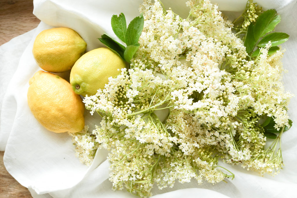 Elderflowers and Lemons