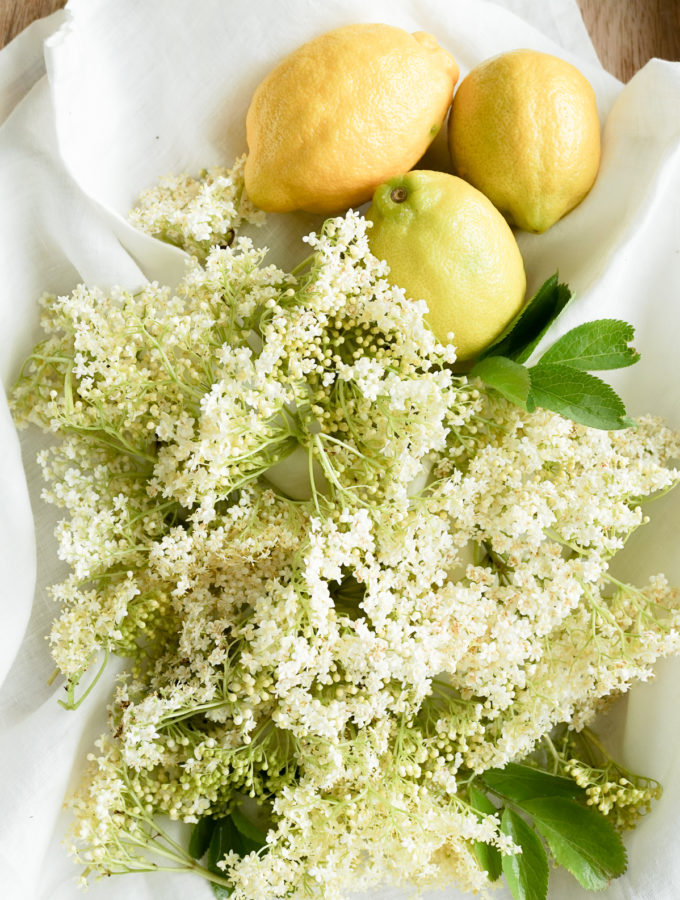 Elderflowers & Lemons