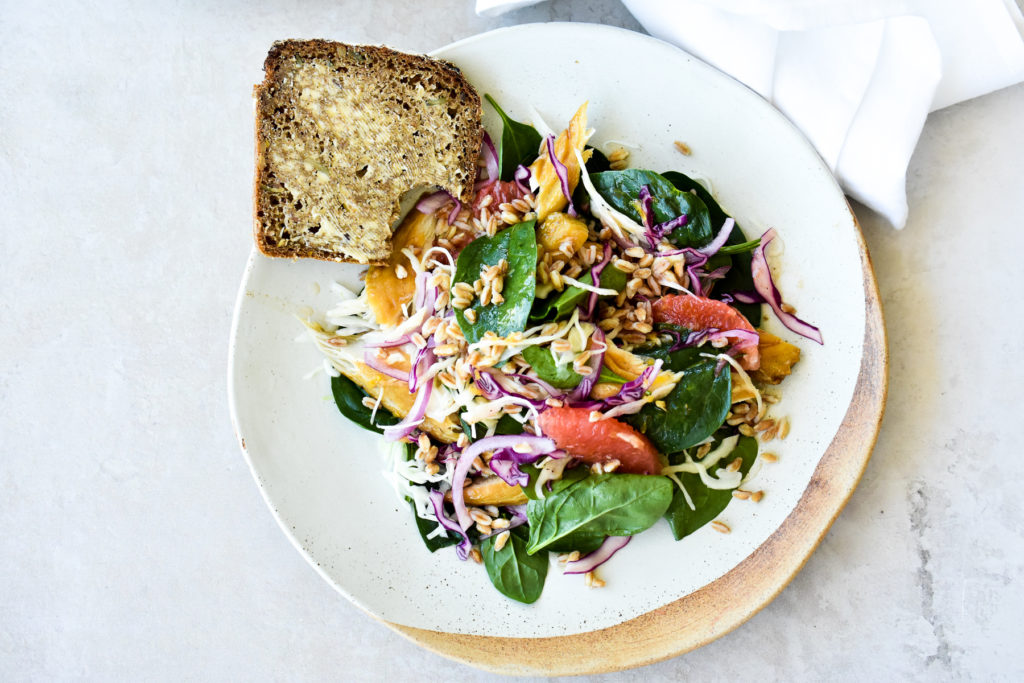 Smoked Mackerel Salad