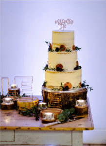 5. Martin and Claire's wedding Cake
