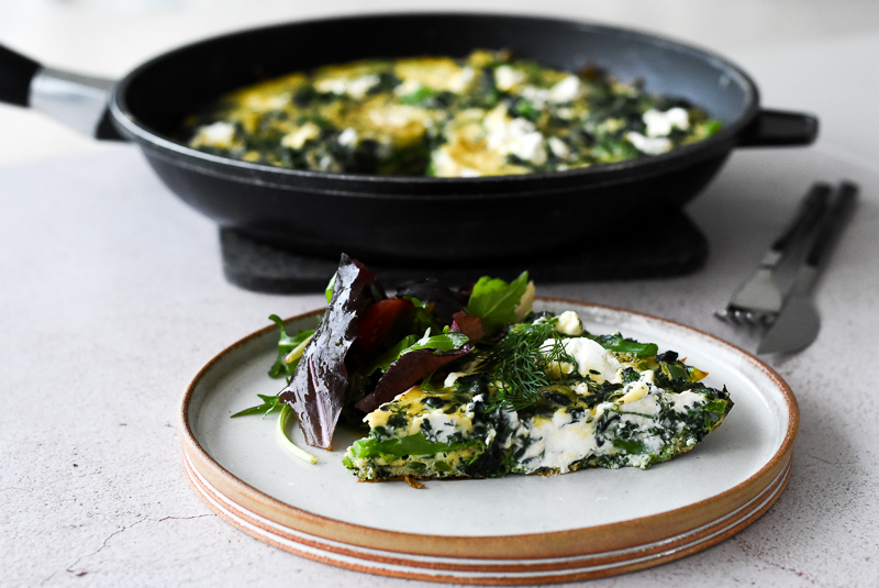 Green Vegetable Frittata