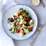 Roasted Cauliflower & Butternut Squash Salad