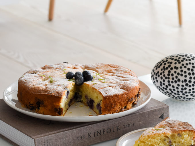 Blueberry, Buttermilk & Lime Cake